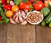 Pinto Beans And Vegetables
