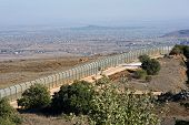 Border Israel-syria