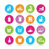 waste icons