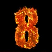 Burning Number 8 eight