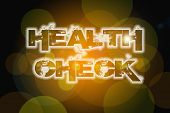 pic of anesthesiology  - Health Check Concept text on background positivism idea - JPG