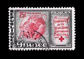 Guinea stamp 1953
