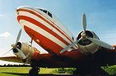 DC-3 Antique Airplane