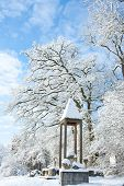 Winter Wonder Land - Monument In The Snow