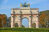 Arch Triumph Carousel
