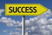 Success creative sign
