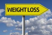 Weight Loss creative sign