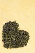 Green Tea Leavesheart Shaped