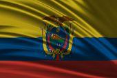 Amazing Flag of Ecuador