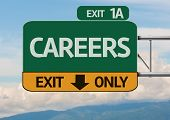 Creative Careers Exit Only, Road Sign