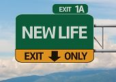 Creative New Life Exit Only, Road Sign