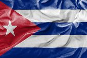 Amazing Flag of Cuba, America Central
