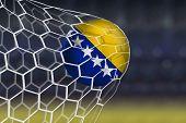 Amazing Goal with Soccer Ball of Bosnia and Herzegovina - Europe