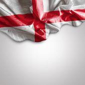 Waving Flag of England, United Kingdom