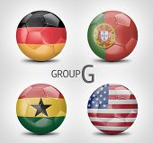 Group G - Germany, Portugal, Ghana, USA (Brazil)