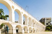 picture of aqueduct  - Lapa Arch  - JPG