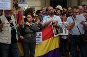 protestieren in Sevilla