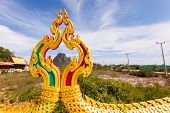 image of fairy tail  - The tail of the dragon Thailand on mountain background - JPG