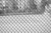 Fence Mesh For Background