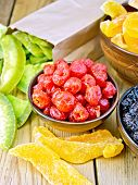 picture of pomelo  - Candied cherries - JPG