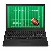Laptop American Football