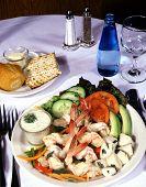 Shrimp And Scallop Salad