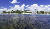 RECIFE, BRAZIL - CIRCA JAN 2014 - Rhe Barrier reef tour in Porto de Galinhas, Pernambuco - Brazil