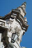 image of obelisk  - Obelisk detail Place del Ges - JPG