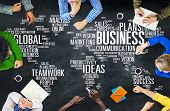 picture of enterprise  - Business Global World Plans Organization Enterprise Concept - JPG