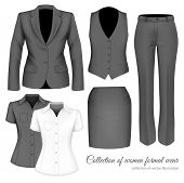 stock photo of outfits  - The Outfits for the Professional Business Women - JPG