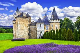 picture of fairies  - Fairy castles of France series - JPG