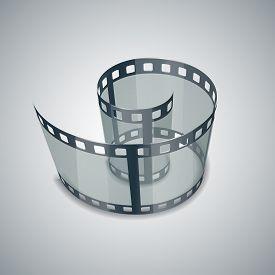 image of storyboard  - Spiral of film strip - JPG