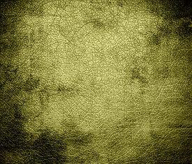 stock photo of khakis  - Grunge background of dark khaki leather texture for design - JPG