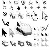 Largest Set of Vector Cursor Icons