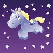 Little Unicorn in the sky