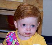 süße blue eyed girl