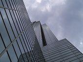 Perspectiva del edificio alto