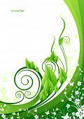Spring design card
