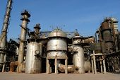 Chemical plant in China