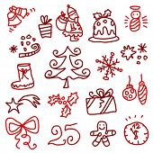 picture of reveillon  - Christmas sketches 1 - JPG