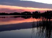 Sonnenuntergang über Hal Scott beibehalten