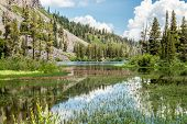 View Of Twin Lakes In Mammoth Lakes, California poster
