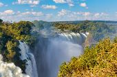 The Victoria Falls, Zimbabwe, Africa poster