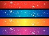 Sparkling Banners