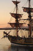 Lady Washington Docking
