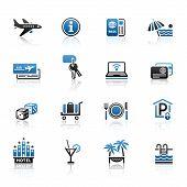 Travel & Vacation, Icons Set