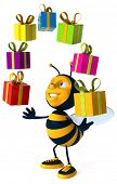 picture of bumble bee  - Bee - JPG