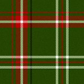 Realistic tartan or plaid texture with visible threads in bright colors