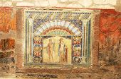 Mosaics And Painting At Hercaluneum