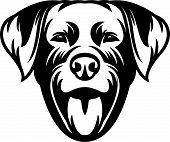 Animal Dog Rottweiler 6Y6.eps poster